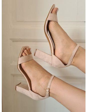 Sandales Aude Nude
