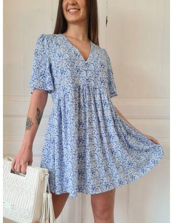 Robe Romy Bleue