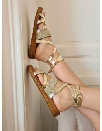 Sandales Athèna Gold