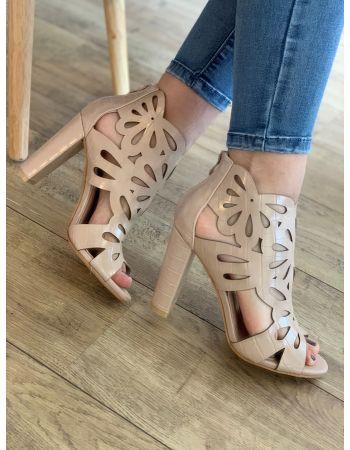 Chaussures Ness Beige