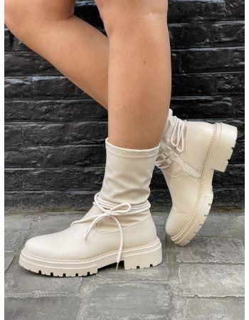 Boots Laya beige